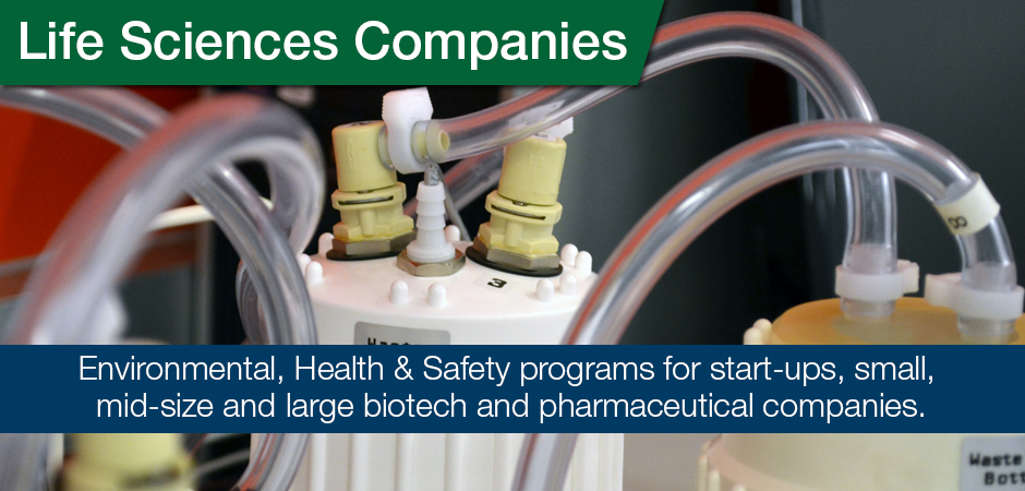 EHS Services for Life Sciences Companies