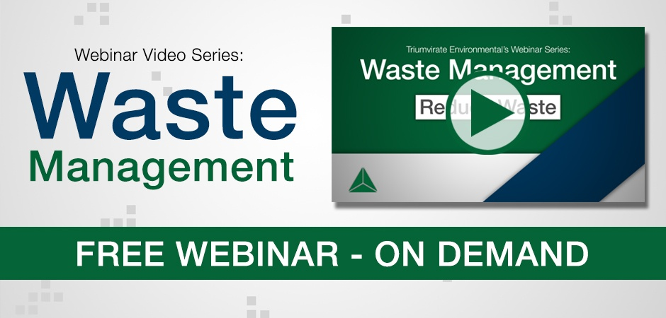 Waste Management Webinar On Demand